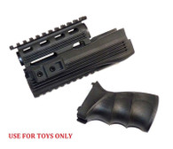 CYMA Toys Rail Handguard and Tactical Grip for Airsoft ToyAK-47Series AEG