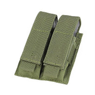 MOLLE Modular Nylon Double Pistol Mag Pouch (OD Green Color) EWG-BAG-0039C