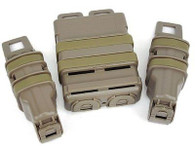 EWG Fast Tactical Pouch Mag Holster Set for M Series/ Toy Pistol/MP5 Mag (DE)