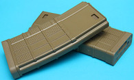 Lancer Advanced Warfighter Hi-Cap Magazine (FDE) (340rds) (2pcs)  MAG006DE