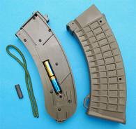 AK47 Illuminated Magazine Ver.III (138rds) (OD) GP654O