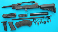 AK Special Forces 100M Conversion Kit (Extended Stock)(Black) GP716B