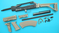 AK Skull Conversion Kit (Folding Stock)(Sand) GP688S