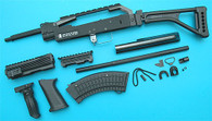 AK Skull Conversion Kit (Folding Stock)(Black) GP688B