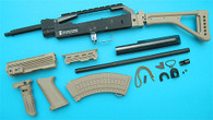 AK Special Forces 100M Conversion Kit (Folding Stock)(Sand) GP687S