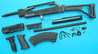 AK Special Forces 100M Conversion Kit (Folding Stock)(Black) GP687B