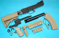 AK Tactical Conversion Kit (Extended Battery Stock)(Sand) GP587S