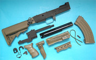 AK Tactical Conversion Kit (Extended Battery Stock)(OD) GP587O