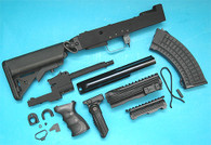 AK Tactical Conversion Kit (Extended Battery Stock)(Black) GP587B