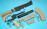 AK Tactical Conversion Kit (Extended Stock)(Sand) GP585S