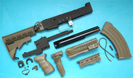 AK Tactical Conversion Kit (Extended Stock)(OD) GP585O