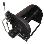 Kolstrand 14 Inch Anchor Winch - With 14 In Diameter X 16 In Wide Drum  - Model AKPAAW14D16WANO - BLACK BEAUTY