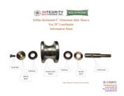 Kolstrand Aluminum Idler Sheave Assembly for 20 Inch LineHauler