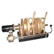 Kolstrand FACTORY-REBUILT Brass 2-Spool Trolling Gurdys