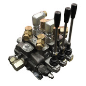InMac-Kolstrand Walvoil 3-Spool Stack Valve Assembly - SD16 for 42 GPM Circuits