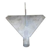 InMac-Kolstrand Jumbo Galvanized Steel Stabilizer - 600 Sq. In. - - * * IN STOCK * *