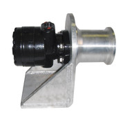 "Kolstrand 4"" capstan winch with weld-down style aluminum frame and capstan Head"