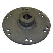 InMac-Kolstrand Gillnet and Longline Drum Flange - 1 1/2 Inch Bore with Keyway - - * * IN STOCK * *