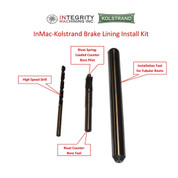 InMac-Kolstrand Rivet Install Tool Kit - for Riveting Linings to Shoes or Gurdy Plate