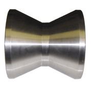 InMac-Kolstrand 6 Inch Diameter X 5 Inch Wide Stainless Steel Bow Roller with Shaft Pin