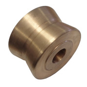 "Kolstrand 3 1/2"" Diameter X 2 1/4"" Wide Bronze Bow Roller"