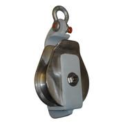 Kolstrand AK Halibut / Purse 5 Inch Open-Face Block-Flame sprayed