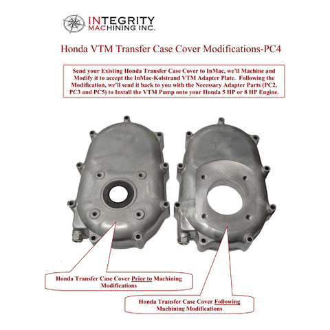 InMac-Kolstrand HPU Honda-VTM Transfer Case Modifications Info Sheet