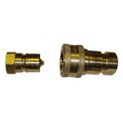 InMac-Kolstrand Brass Quick-Disconnect Coupler Assembly - Nose with Body - 3/4 Inch NPT