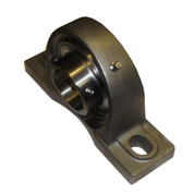 Kolstrand SS Pillow Block Bearing - 1 1/2 Inch Bore with Setscrews