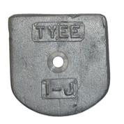 Kolstrand Upper Flapper Valve Weight for Tyee #1 Pump - 1-J
