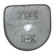 Kolstrand Lower Flapper Valve Weight for Tyee #1 Pump - 1-K