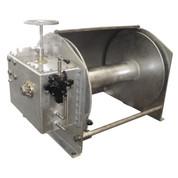 InMac-Kolstrand Steel Galvanized - Double Reduction - 34 Inch Anchor Winch - Model AKPHRW34D36W-No Gypsy