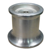 Kolstrand 4 Inch Aluminum capstan with 1-1/4 inch bore and 5/16 Inch keyway dimensional information