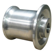 Kolstrand 4 inch aluminum  capstan with 1 inch bore and 1/4 inch Keyway