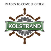 "InMac-Kolstrand 8"" Cast Iron Gypsy with Integral Hub and 2"" Bore"