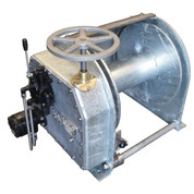 Kolstrand Steel Galvanized - Single Reduction - 20 Inch Anchor Winch