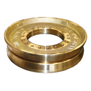 Kolstrand Manganese Bronze Main Drive Sheave Set (2 Each Sheave Halves) for 24 Inch Line Hauler