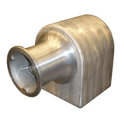 "Kolstrand 6"" horizontal capstan winch-No capstan Cap (for use in horizontal mode)"
