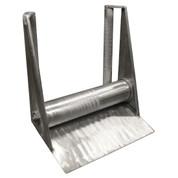InMac-Kolstrand 40 Inch X 23 Inch Un-Powered All-Aluminum Gillnet Bow Roller with 36 Inch Long Verticals