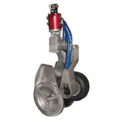 Kolstrand 20 Inch Power Block with Vulcanized Rubber Sheave and Yoke-mounted PowerGrip with Hydraulic Swivel Arrangement
