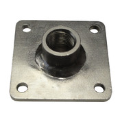InMac-Kolstrand 1/2 Inch NPT Single Thru-Deck Fitting-Stainless Steel - - * * IN STOCK * *