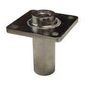 InMac-Kolstrand ORB #8 Single Thru-Deck Fitting-Stainless Steel - - * * IN STOCK * *