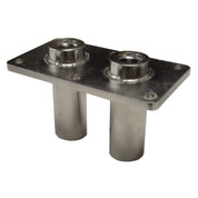 InMac-Kolstrand ORB #8 Double Thru-Deck Fitting-Stainless Steel