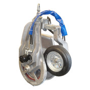 Kolstrand 26 Inch Power Block with PowerGrip (NO Hydraulic Swivel), Bolt-In Replaceable Cleat Sheave and RE Motor