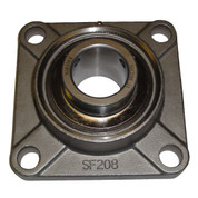 Stainless Steel 4-Bolt Flange Bearing for Bait Chopper Main Drive Shaft
