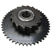 Kolstrand 1N Driven Gypsy Shaft Sprocket - WITH Locking Dog Ratchet
