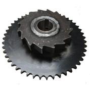 Kolstrand 1N Driven capstan Shaft Sprocket - WITH Locking Dog Ratchet