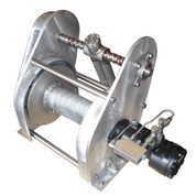 InMac-Kolstrand AKPW12D12W-FLW Special Aluminum Winch with FLIP-STYLE Diamond Screw Level Wind