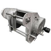 Kolstrand AKPW24D24W-FLW-AK-RE29 special aluminum winch with FLIP-STYLE diamond screw level wind