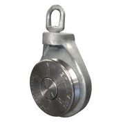 Kolstrand AK Longline Multi-Pot 16 Inch Open-Face Block with Steel Galvanized Frame & Stainless Steel Sheave